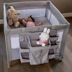 Łóżeczko turystyczne dla dzieci kojec składane 2w1