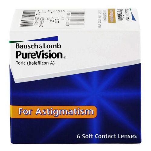 Soczewki kontaktowe, PureVision Toric 6 szt.