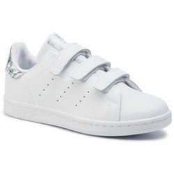 Buty adidas - Stan Smith Cf C EE8484 Ftwwht/Ftwwht/Cblack