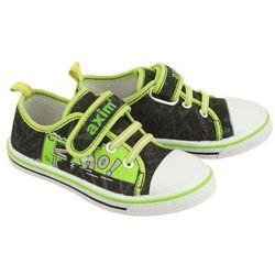 AXIM 2TE1148 zielony, tenisówki dziecięce, rozmiary: 25-30 - Granatowy ||Zielony