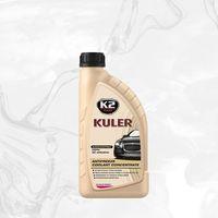 Pozostałe kosmetyki samochodowe, KULER KONC. 1L RÓŻOWY koncentrat płynu do chłodnic 1:1 - 1L