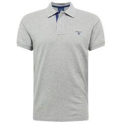 GANT CONTRAST COLLAR Koszulka polo grey