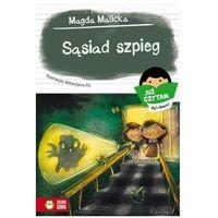 Książki dla dzieci, Już czytam sylabami. sąsiad szpieg - malicka magda (opr. miękka)
