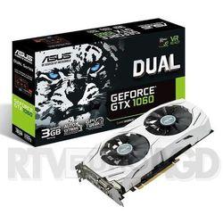 ASUS GeForce GTX 1060 DUAL 3GB GDDR5 192 bit Darmowy transport od 99 zł | Ponad 200 sklepów stacjonarnych | Okazje dnia!