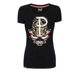 koszulka Surge 63 Dni Chwały damska czarna (K.SUR.472)