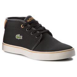 Sneakersy LACOSTE - Ampthill 318 1 Caj 7-36CAJ0001424 Blk/Dk Tan