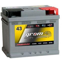 Akumulator GROM Premium 43Ah 450A EN DTR
