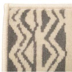 Nowoczesny dywan we wzór tradycyjny, 140x200 cm, beżowo-szary
