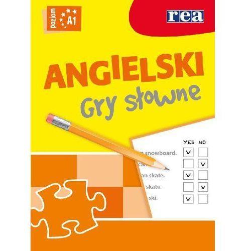Książki do nauki języka, Język Angielski. Gry Słowne. Poziom A1 (opr. miękka)