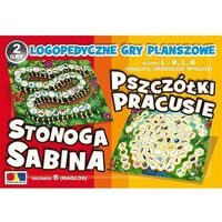 Gry dla dzieci, 2 gry Stonoga Sabina/Pszczółki Pracusie