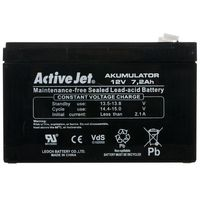 Zasilacze UPS, Akumulator UPS Activejet (12V DC; 7200mAh)