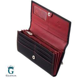 Duży damski portfel z RFID Visconti CD-21 Topaz