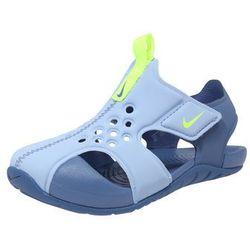 Nike Sportswear Buty na plażę/do kąpieli 'Sunray Protect 2 TD' jasnoniebieski / żółty