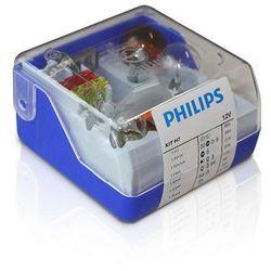 Zestaw zapasowy Philips 55007SKKM - Żarówka samochodowa H7 12V
