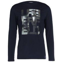LAGERFELD Bluzka z długim rękawem dunkelblau