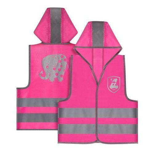 Pozostała odzież dziecięca, Kamizelka odblaskowa, XS, dla dzieci 2 lata+, REER - różowy
