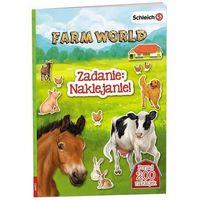 Książki dla dzieci, Farm World Zadanie Naklejanie - Praca zbiorowa