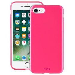 PURO Sunny Kit - Zestaw etui iPhone 7 + składane okulary przeciwsłoneczne (różowy)