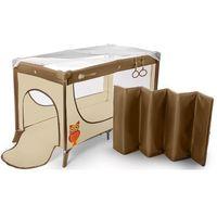 Łóżeczka turystyczne, Łóżeczko turystyczne Joy Standard beżowy - KinderKraft