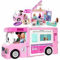 Lalki dla dzieci, Barbie kamper 3 w 1
