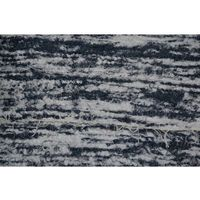 Chodniki, Chodnik bawełniany, ręcznie tkany, biało-szarozielony 80x150