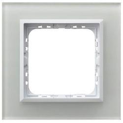 Ramka pojedyncza Ospel As szkło białe