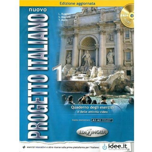 Językoznawstwo, Nuovo Progetto Italiano 1 Ćwiczenia Z Płytą Cd (opr. miękka)