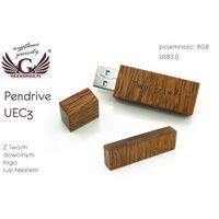 Flashdrive, PENDRIVE GOODRAM UEC3 8GB USB 3.0 z Twoim dowolnym logo lub tekstem