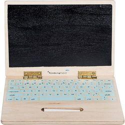 Zabawka komputer elena drewniana z tablicą