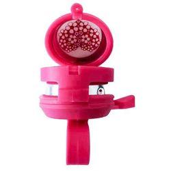 Dzwonek rowerowy dziecięcy z lusterkiem 34 S-10 różowy