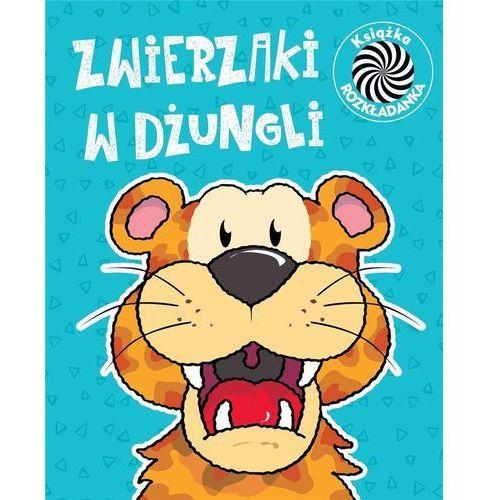 Książki dla dzieci, Zwierzaki w dżungli Ruchome obrazki - Praca zbiorowa (opr. twarda)