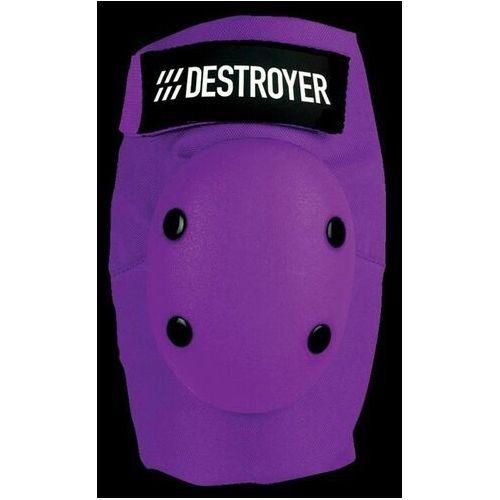 Ochraniacze na ciało, ochraniacze na łokcie DESTROYER - Am Elbow Purple (PRP)