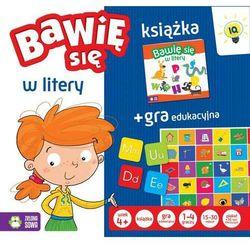 Bawię sie w litery Książka + Gra