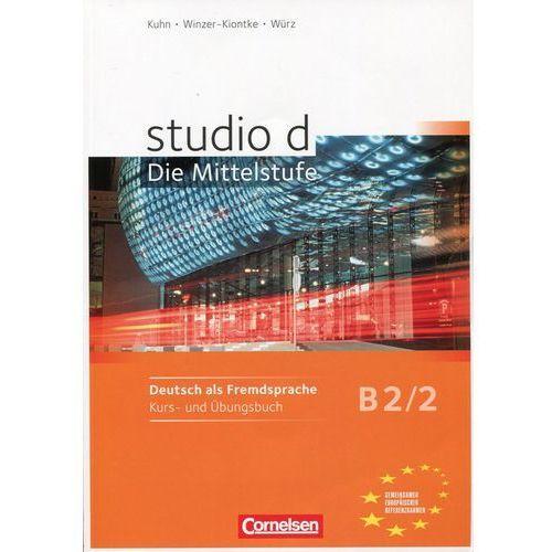 Książki do nauki języka, Studio d B2/2 SB+WB +CD BC.edu - Demme S., Funk H., Kuhn Ch. i in. (opr. broszurowa)