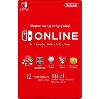 Klucze i karty pre-paid, Nintendo Switch 12 miesiące
