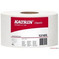 Papier toaletowy, Papier toalet.2w.biały GIGANT S 125 121005 95x125m(12)431466KATRIN121050