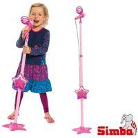 Instrumenty dla dzieci, GIRLS MIKROFON ZE STATYWEM