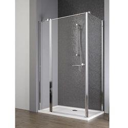 Radaway EOS II KDJ drzwi 120 lewe x ścianka 90 prawa wys. 195 cm szkło przejrzyste 3799424-01L/3799431-01R