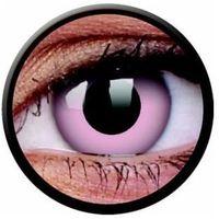 Soczewki kontaktowe, Soczewki kolorowe różowe BARBIE PINK Crazy Lens 2 szt.