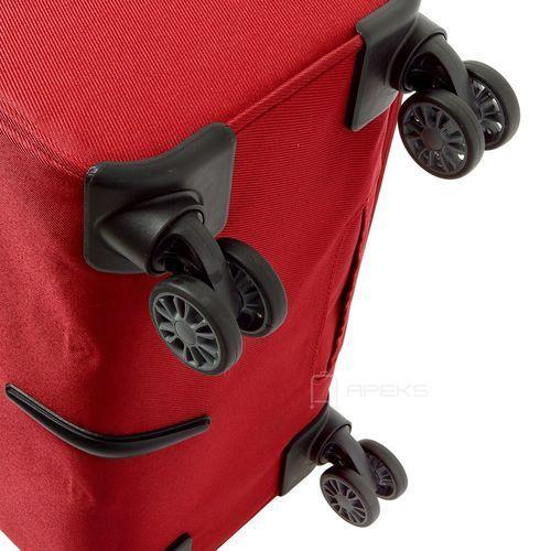 Torby i walizki, Travelite Capri średnia poszerzana walizka 66 cm / czerwona - czerwony ZAPISZ SIĘ DO NASZEGO NEWSLETTERA, A OTRZYMASZ VOUCHER Z 15% ZNIŻKĄ