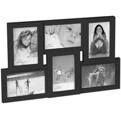 Prostokątna ramka na zdjęcia - galeria na 6 zdjęć
