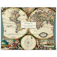 Papeterie, Papeteria Wallet Four Hemispheere World Map
