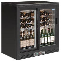Chłodziarka na wino z drzwiami na zawiasach lub suwanymi | 920 x 920 x 535 mm