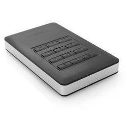 Zewnętrzny dysk twardy Verbatim Store 'n' Go 1TB, s numerickou klávesnicí pro šifrování (53401) Srebrny/Szary