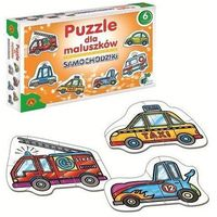 Puzzle, Puzzle ALEXANDER Dla maluszków samochodziki 005370