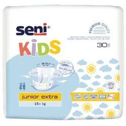 Pieluchomajtki dla dzieci Seni Kids Junior Extra 15-30kg 30 szt. | SZYBKA WYSYŁKA!
