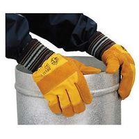 Rękawice robocze, Rękawice wzmocnione skórą docker