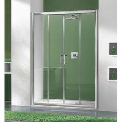 SANPLAST drzwi Tx 5 150 przesuwne, szkło CR D4/TX5b-150 600-271-1250-38-371