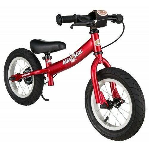 """Rowerki biegowe, Rowerek biegowy 12"""" XL BIKESTAR GERMANY sport czerwony"""