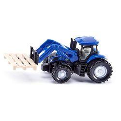SIKU Traktor z widłami do palet